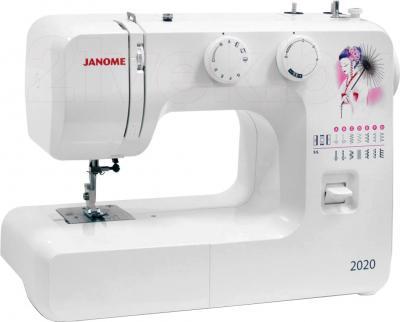 Швейная машина Janome 2020 - общий вид