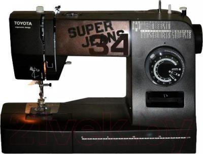 Швейная машина Toyota Super Jeans 34 - общий вид