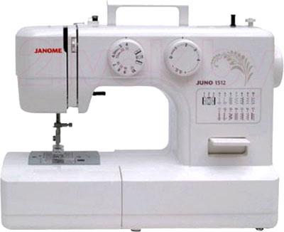 Швейная машина Janome Juno 1512 - общий вид