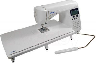 Швейная машина Juki HZL-F600 - с коленоподъемником и расширителем рабочей поверхности