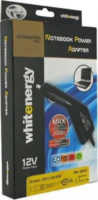 Автомобильный адаптер питания для нетбуков Whitenergy 05508 - упаковка