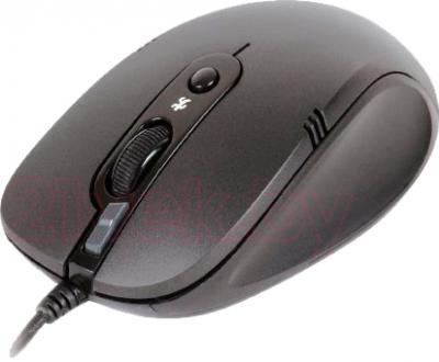 Мышь A4Tech N-560FX (Black) - общий вид