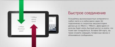 Планшет Prestigio MultiPad 4 Diamond 10.1 16GB 3G (PMT7177_3G_D_BK) - соединение