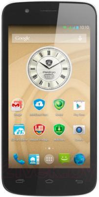 Смартфон Prestigio MultiPhone 5453 Duo (белый) - общий вид