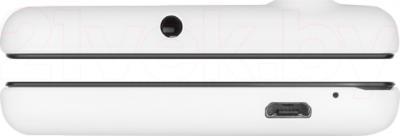 Смартфон Prestigio MultiPhone 5453 Duo (белый) - верхняя и нижняя панели