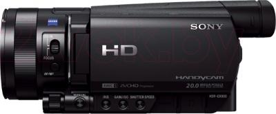 Видеокамера Sony HDR-CX900EB - вид сбоку
