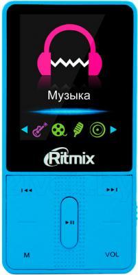 MP3-плеер Ritmix RF-4550 (4Gb, синий) - общий вид