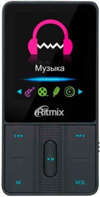 MP3-плеер Ritmix RF-4550 (8GB, черный) - общий вид