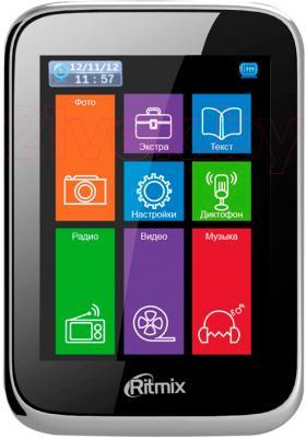 MP3-плеер Ritmix RF-8500 (4GB, черный) - общий вид