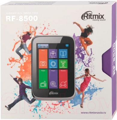 MP3-плеер Ritmix RF-8500 (4GB, черный) - упаковка