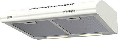 Вытяжка плоская KRONAsteel Nancy 50 (белый, кнопочное управление) - общий вид