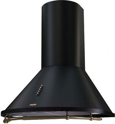 Вытяжка купольная KRONAsteel Nikol 60 (черный/бронза) - общий вид