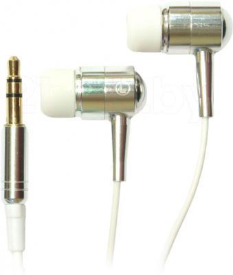 Наушники Ritmix RH-133 (хром) - общий вид
