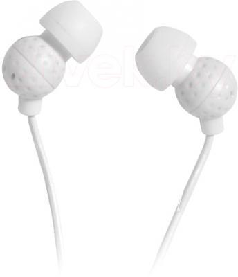Наушники Ritmix RH-015 (белый) - общий вид