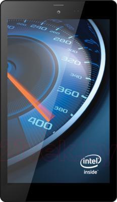 Планшет TeXet X-force 8 16GB 3G TM-8048 (Black) - фронтальный вид