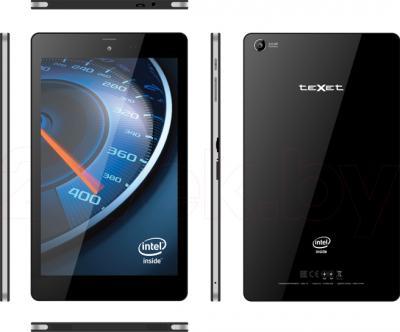 Планшет TeXet X-force 8 16GB 3G TM-8048 (Black) - вид панелей корпуса