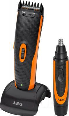 Машинка для стрижки волос AEG HSM/R 5597 NE (Black) - общий вид