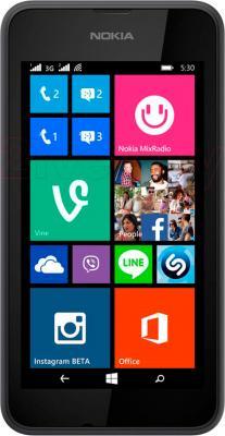 Смартфон Nokia Lumia 530 (серый) - общий вид