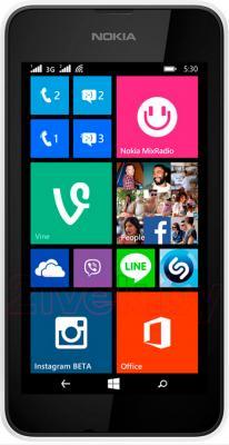 Смартфон Nokia Lumia 530 (White) - общий вид