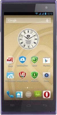 Смартфон Prestigio MultiPhone 5455 Duo (синий) - общий вид