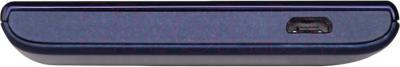 Смартфон Prestigio MultiPhone 5455 Duo (синий) - нижняя панель