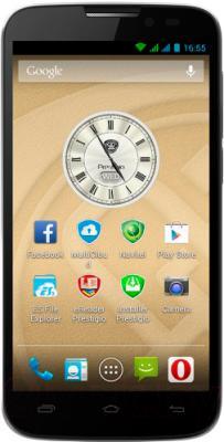 Смартфон Prestigio MultiPhone 5517 Duo (черный) - общий вид