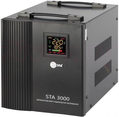 Стабилизатор напряжения ЭРА STA-3000 - общий вид