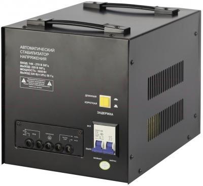 Стабилизатор напряжения ЭРА STA-3000 - вид сзади