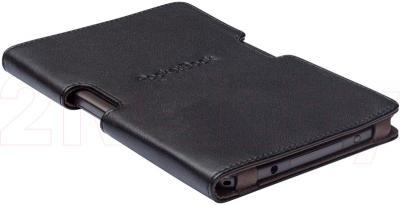 Обложка для электронной книги PocketBook PBPUC-650-BK (черно-коричневый) - общий вид