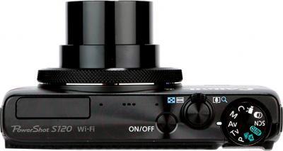 Компактный фотоаппарат Canon Powershot S120 - вид сверху