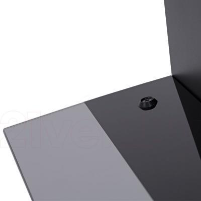 Вытяжка купольная Pyramida BH 60 (черный) - гнутое стекло