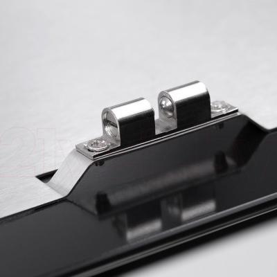 Вытяжка декоративная Pyramida HES 30 (D-600 MM) Black/AJ - крепление на дверце