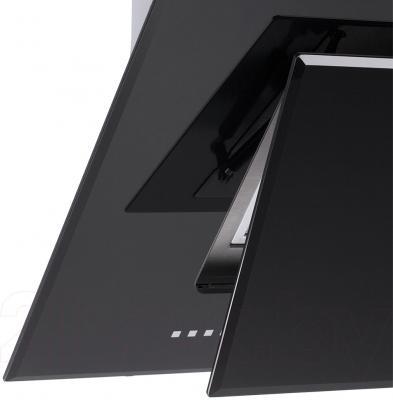 Вытяжка декоративная Pyramida HES 30 (D-600 MM) Black/AJ - открывающаяся дверца