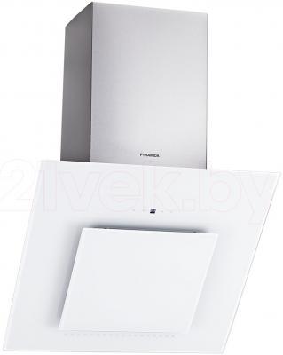 Вытяжка декоративная Pyramida HES 30 (D-600 MM) White/AJ - общий вид