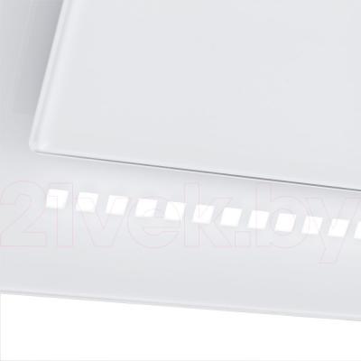 Вытяжка декоративная Pyramida  HES 30 (D-900 MM) White/AJ - диодная лента подсветки