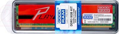 Оперативная память DDR3 Goodram 8GB DDR3 PC3-12800 Red - общий вид
