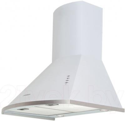 Вытяжка купольная Pyramida KM 60 (белый) - вполоборота