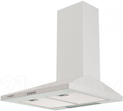 Вытяжка купольная Pyramida KS 60 White/U - общий вид