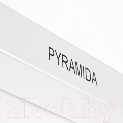 Вытяжка купольная Pyramida KS 60 White/U