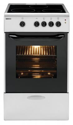 Кухонная плита Beko CS 47100 S - вид спереди