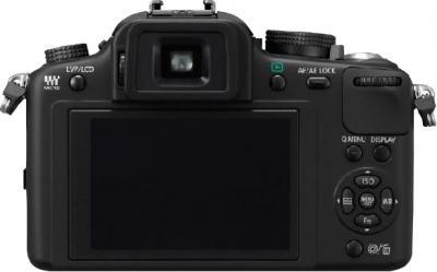 Беззеркальный фотоаппарат Panasonic Lumix DMC-G10KGC-K - вид сзади