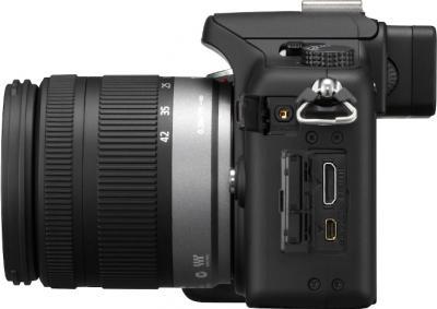 Беззеркальный фотоаппарат Panasonic Lumix DMC-G10KGC-K - вид сбоку