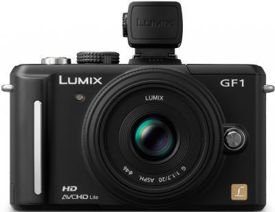 Беззеркальный фотоаппарат Panasonic Lumix DMC-GF1-K - возможность крепления аксессуаров