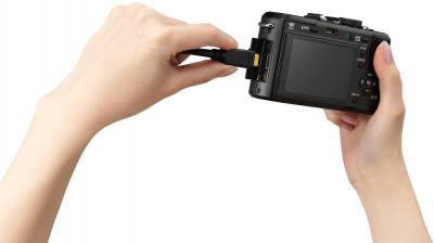 Беззеркальный фотоаппарат Panasonic Lumix DMC-GF1-K - общий вид