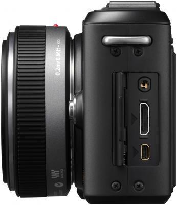 Беззеркальный фотоаппарат Panasonic Lumix DMC-GF1-K - вид сбоку