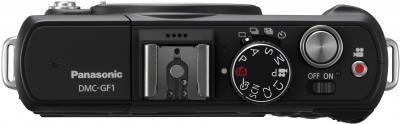 Беззеркальный фотоаппарат Panasonic Lumix DMC-GF1-K - вид сверху