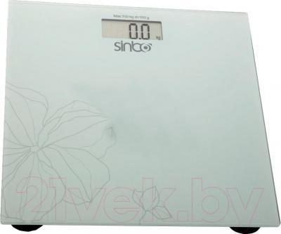 Напольные весы электронные Sinbo SBS-4418 (серый) - общий вид