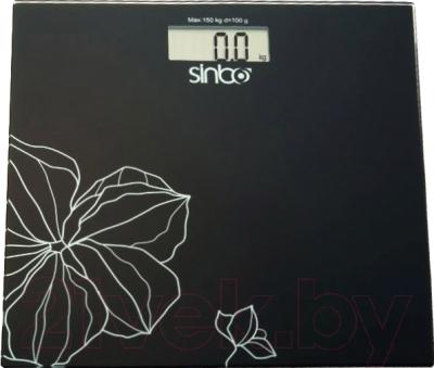 Напольные весы электронные Sinbo SBS-4418 (черный)