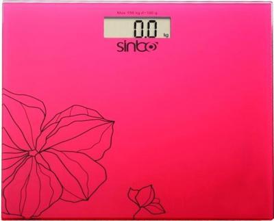 Напольные весы электронные Sinbo SBS-4418 (красный) - общий вид
