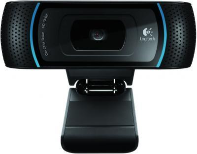 Веб-камера Logitech HD Pro Webcam C910 - вид спереди